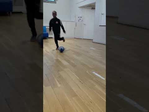 Josh King football skills 10 years old