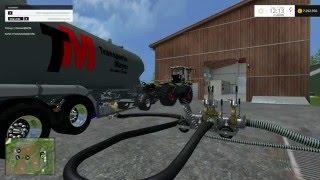 Heute stelle ich euch die Guelle Andockstation V 1.0 SP Mod für Landwirtschafts Simulator 15