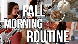 Fall MORNING ROUTINE 2016
