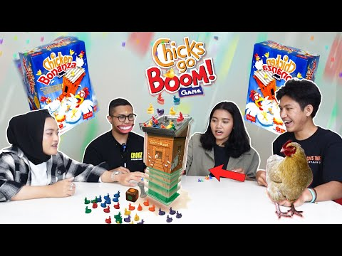 AWAS AYAM TERBANG !! CHICKS GO BOOM GAME INDONESIA !! w/ @INDIRA KALISTHA