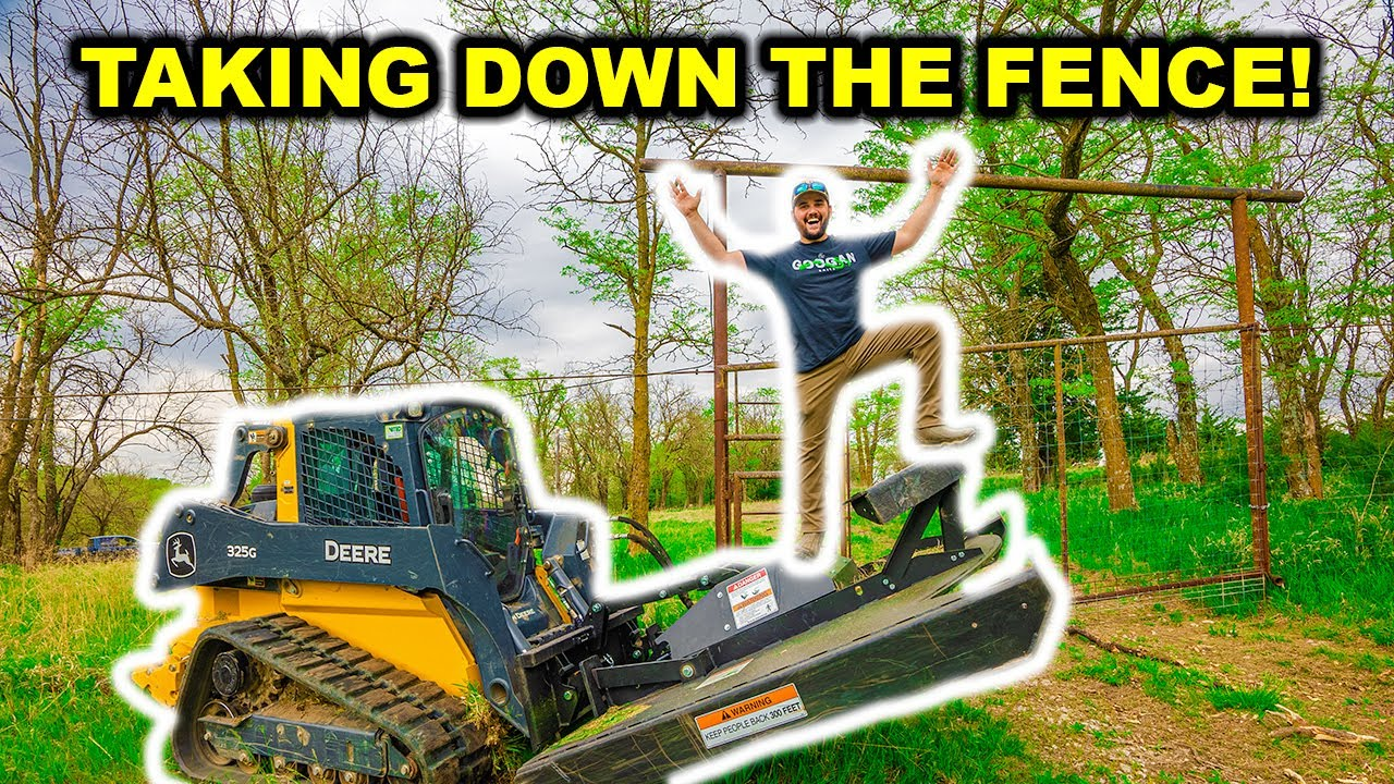 REMOVING the FENCE at the ABANDONED High-Fence RANCH!!! (RIP)