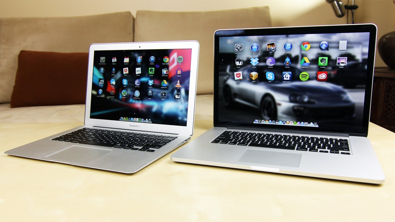 What is the difference between a MacBook Pro and MaBook Air?