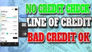 NO CREDIT CHECK! BAD CREDIT OK! Credit Builder, Checking, & Savings Account!