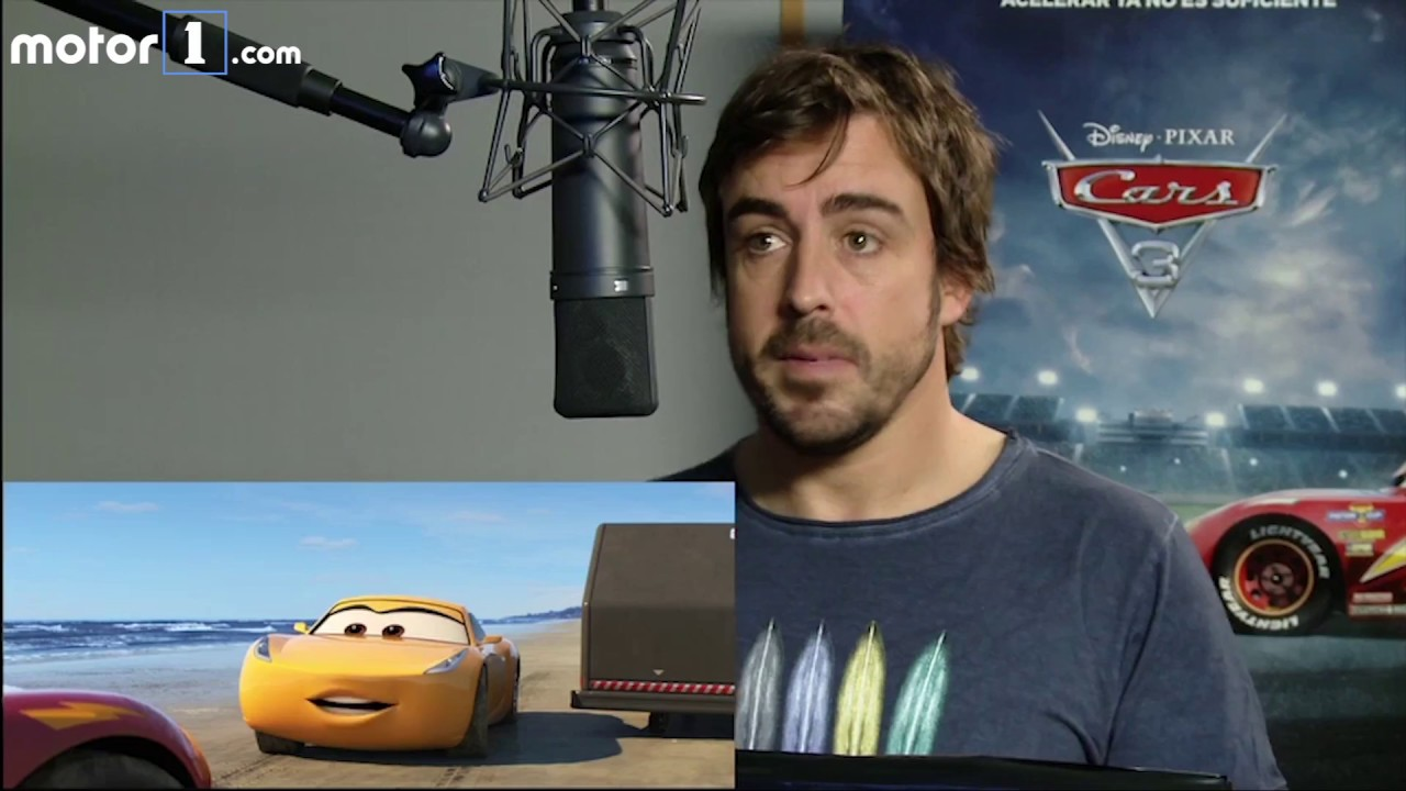 675073a8c5 Fernando Alonso le pone voz a Cars 3 - YouTube