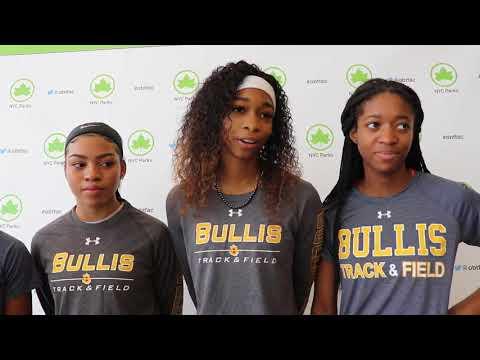 Bullis Girls Dominate 400m At Ocean Breeze