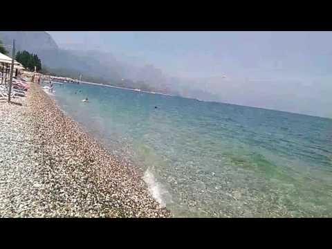 Пляж Кемер 05 августа 2016. Средиземное море.