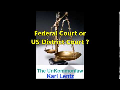 026 - Karl Lentz - Federal Court or US District Court