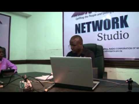 Interview on the Network Service of Radio Nigeria