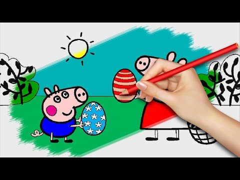 Peppa Pig Coloring Book Games : Peppa pig coloring pages for kids games