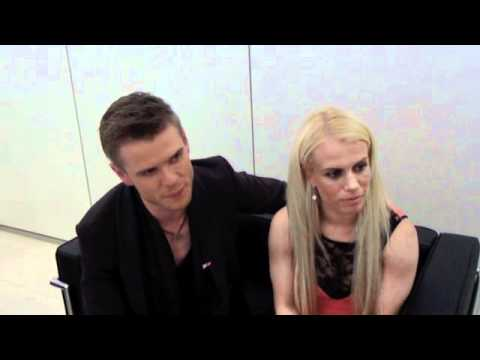 ESCKaz live in Baku: Greta Salome & Jonsi (Iceland) interview