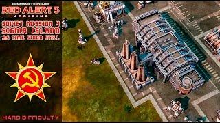 C&C Red Alert 3 Uprising - Soviet Final Mission 4 - Sigma Island - As Time Stood Still [Hard] 1080p