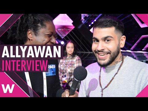 "Allyawan ""Vart har du vart"" - Melodifestivalen 2017 Malmö (INTERVIEW)"