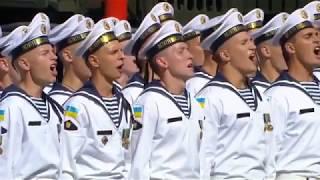 Выступление президента Украины Петра Порошенко на параде ко Дню Независимости Украины 2018