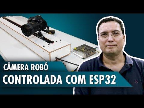 Câmera robô controlada com ESP32
