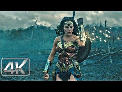 "Mujer Maravilla ""Tierra de Nadie"" | Español Latino (4k-HD) | Wonder Woman 2017"