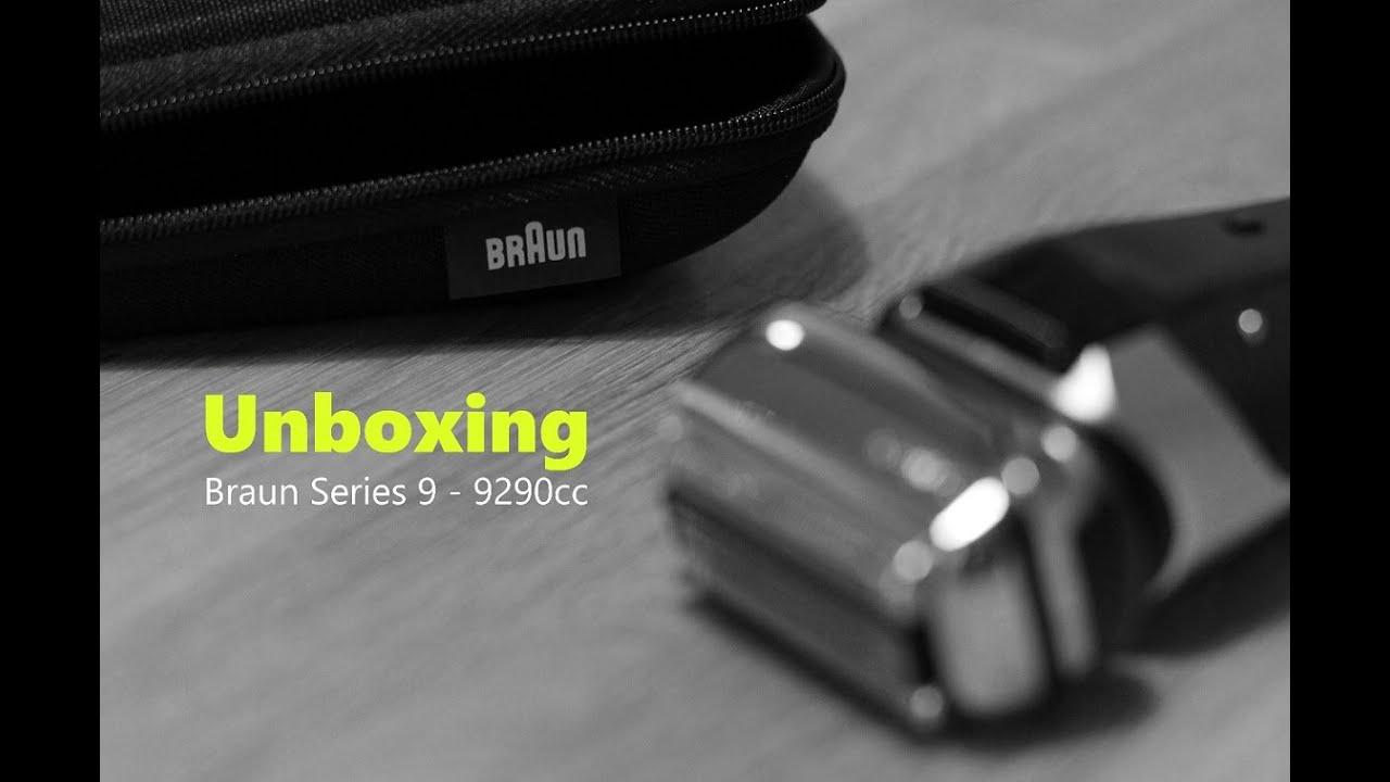 Unboxing - New BRAUN Series 9 - 9290cc (deutsch) - YouTube