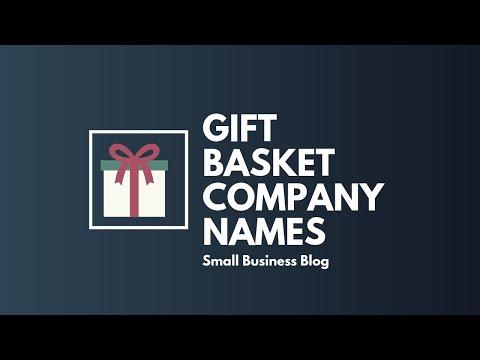 Best Gift Basket Company Names