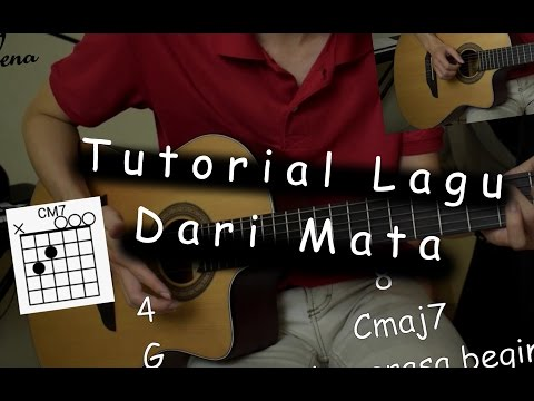 Belajar Gitar (Dari Mata - Jaz)