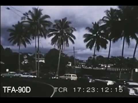 Family Sojourn In Hawaii, 1957