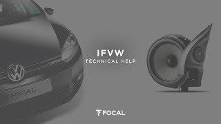 installing a focal ifvw golf 6 volkswagen dedicated kit