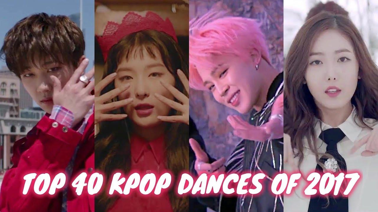 foto de My Top 40 KPop Dances of 2017 YouTube