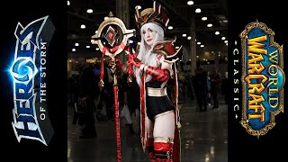 HotS / WoW High Inquisitor Whitemane Cosplay at Comic Con Russia 2019
