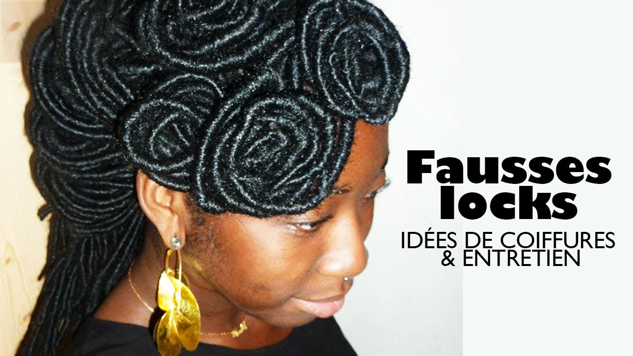 Idee Coiffure Routine Fausses Locks Longues Youtube