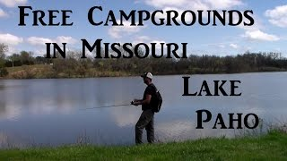 Free Camping in Missouri Lake Paho Van Living