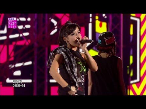 【TVPP】2NE1 - I Love You, 투애니원 - 아이 러브 유 @ Korean Music Wave In Bangkok Live