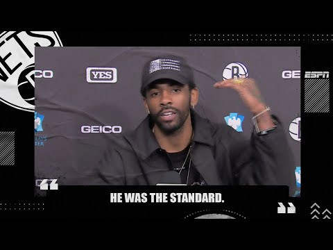 Kyrie Irving wants Kobe Bryant to be the NBA logo  NBA on ESPN