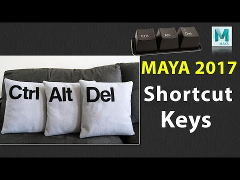 Maya 2017 Shortcut Keys