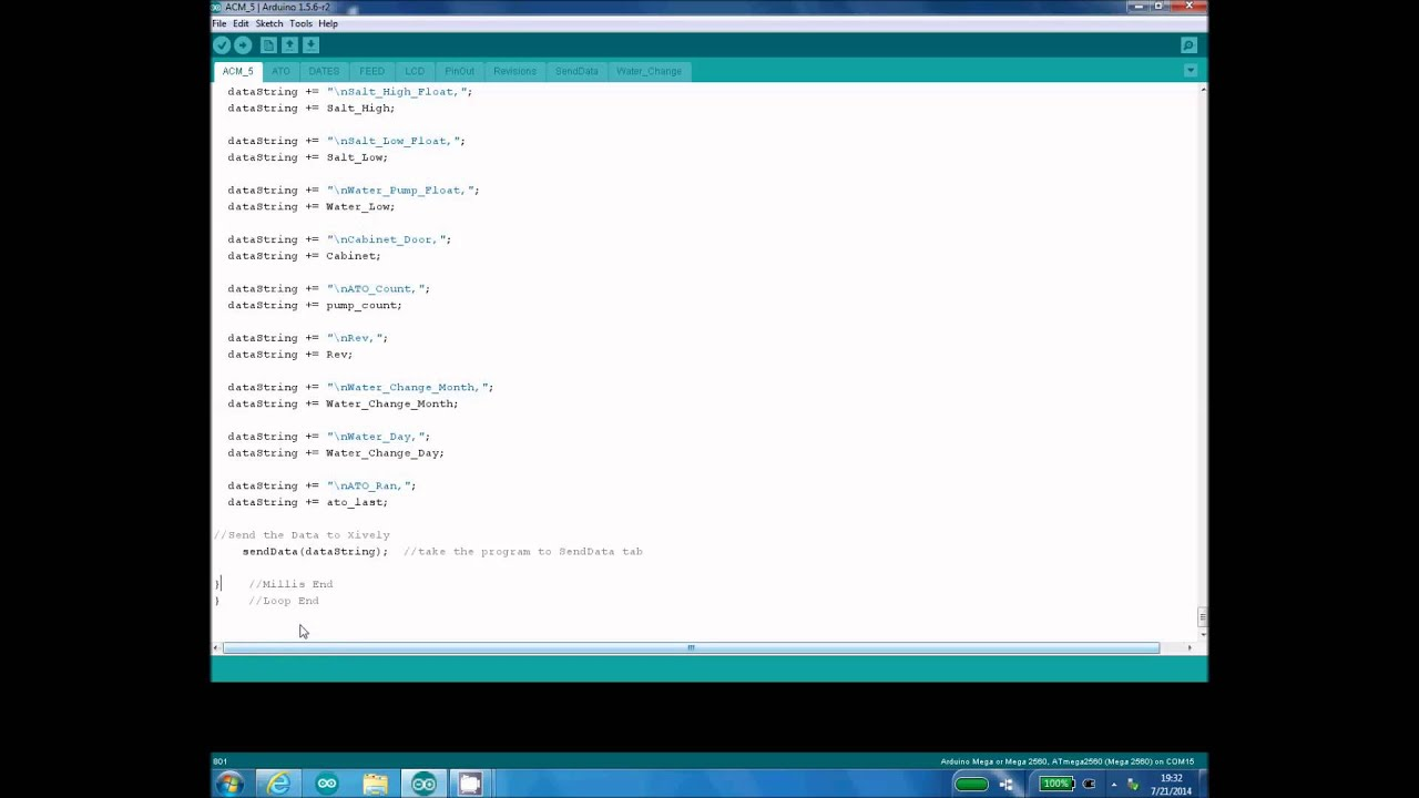 Arduino the use of tabs in ide youtube