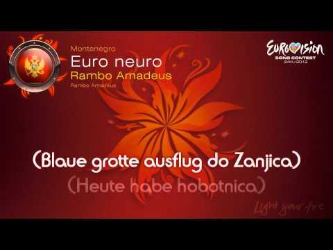 "Rambo Amadeus - ""Euro Neuro"" (Montenegro) - [Karaoke version]"