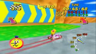 Diddy Kong Racing - Acceleration Glitch [A Button Tapping]