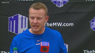Boise State coach Harsin explains how the Broncos have changed since they last played Hawai'i