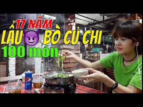 NÚC NA NÚC NICH BÒ CỦ CHI 100 MÓN | Guide Saigon Food