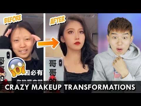 7 CRAZIEST CHINESE MAKEUP TRANSFORMATIONS FROM TIK TOK CHINA