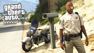 GTA 5 PC Mods - PLAY AS A COP MOD!! GTA 5 TRAFFIC POLICE PATROL Mod Gameplay! (GTA 5 Mod Gameplay)