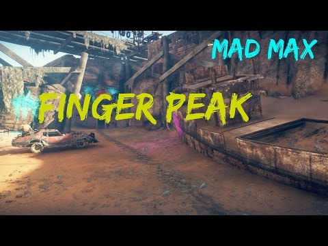 Mad Max - Finger Peak - Eliminate Stank Gum's Legion - Walkthrough (Gameplay)