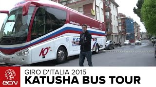 Katusha Team Bus Tour | Giro D