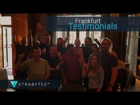 XTRABYTES Unscripted Testimonials from Frankfurt