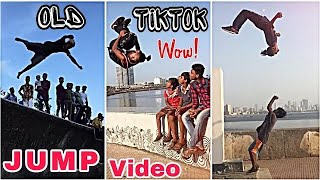 Tiktok jump video | tiktok amazing old stunt | Aakash Parkour tiktok video | Tik Tok Latest video