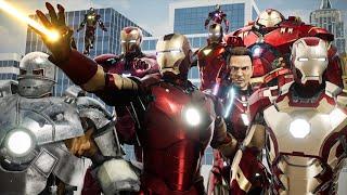 EVOLUTION of IRON MAN: MCU Suit Comparison (2008-2019)