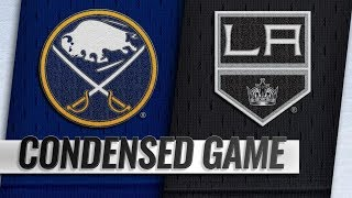 Buffalo Sabres vs Los Angeles Kings – Oct.20, 2018 | Game Highlights | NHL 18/19 | Обзор матча