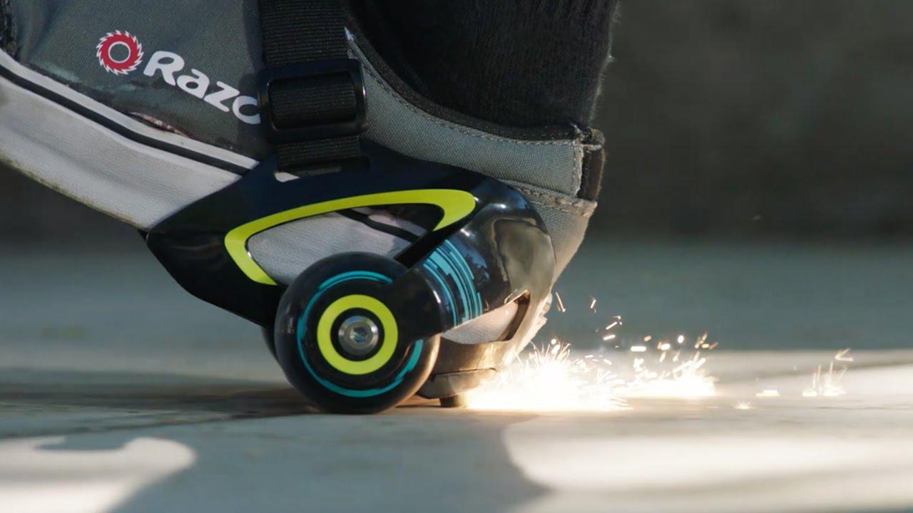 Razor Sneaker Rollen Jetts Heel Wheels
