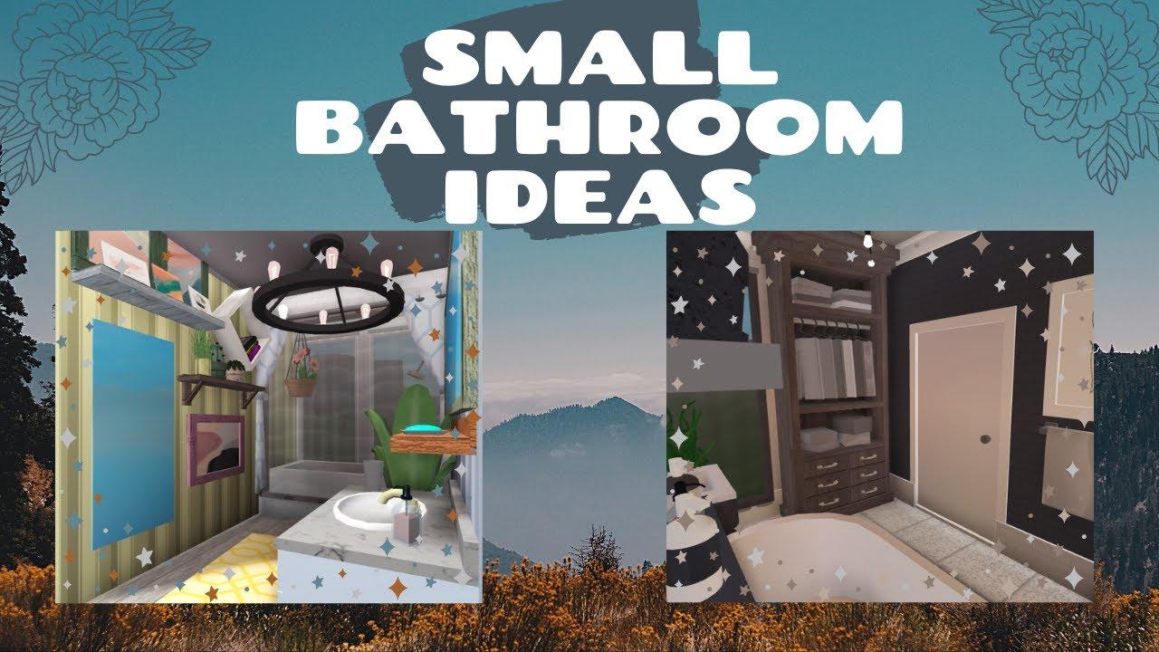 Roblox | Bloxburg | No Gamepasses Bathroom Ideas | Tapioca ...