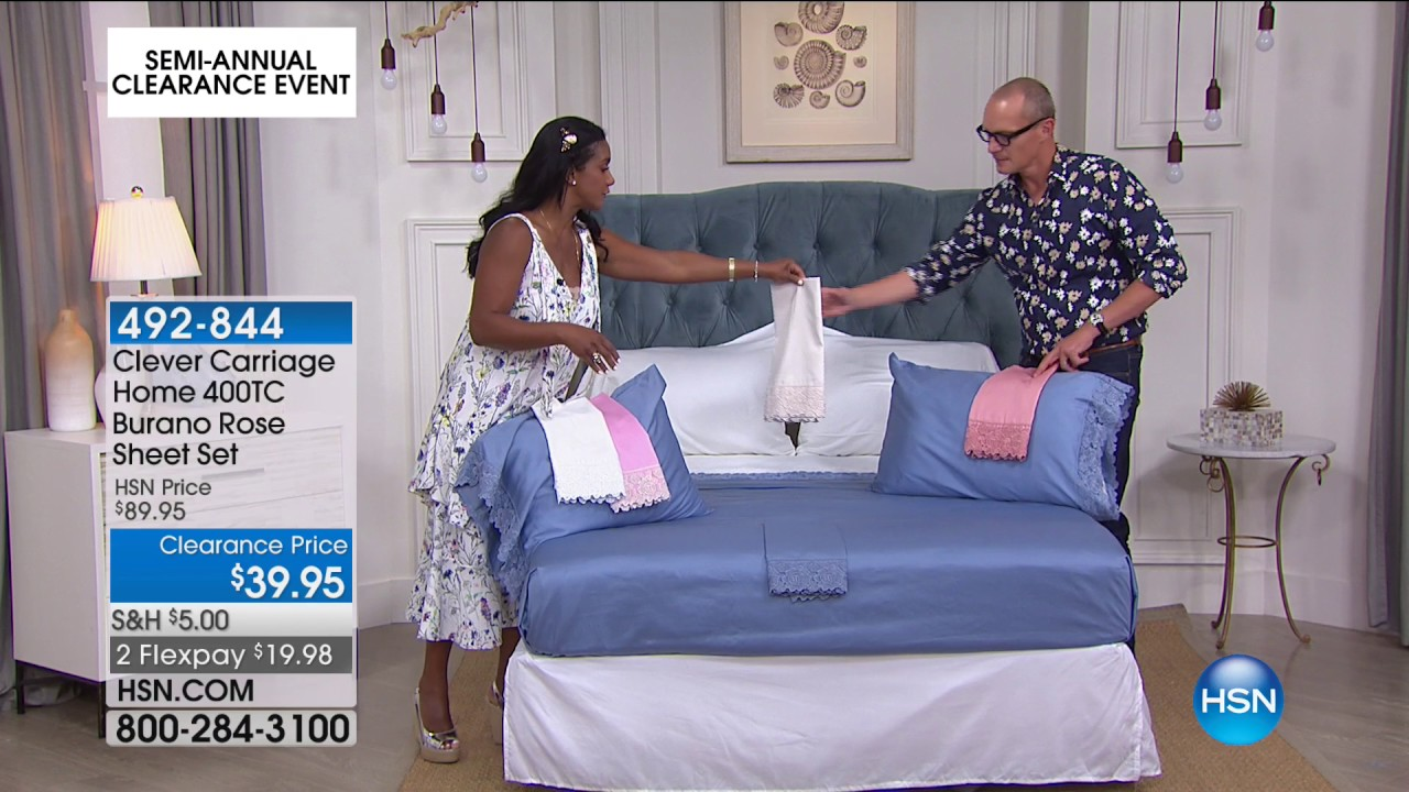 hsn | bedding clearance 06.16.2017 - 06 am - youtube