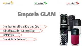 Produktvideo zu Seniorenhandy Emporia GLAM Schwarz