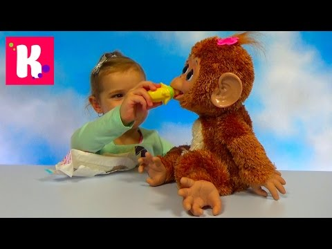 Обезьянка Fur Real Friends / Обзор игрушки