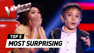 The Voice Kids | MOST SURPRISING Blind Auditions [PART 2](, 2016-05-20T05:00:00.000Z)